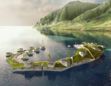 Floating islands project backers say French Polynesia is still an option