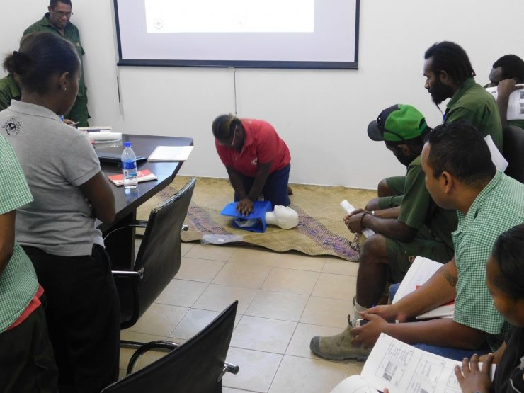 Safety of personnel before all else in Tusker Vanuatu