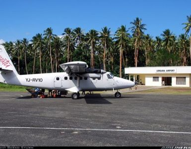Longana Airport is operational again
