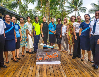 Air Vanuatu emerges as a leader in gender diversity