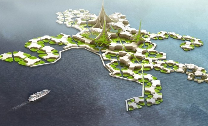 Floating islands project looking for new home in the Pacific