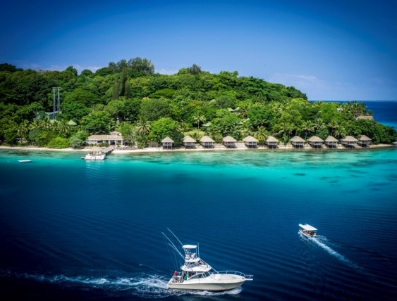 Vanuatu ranked 9th among tourist destinations in the Pacific with only 5.1% share