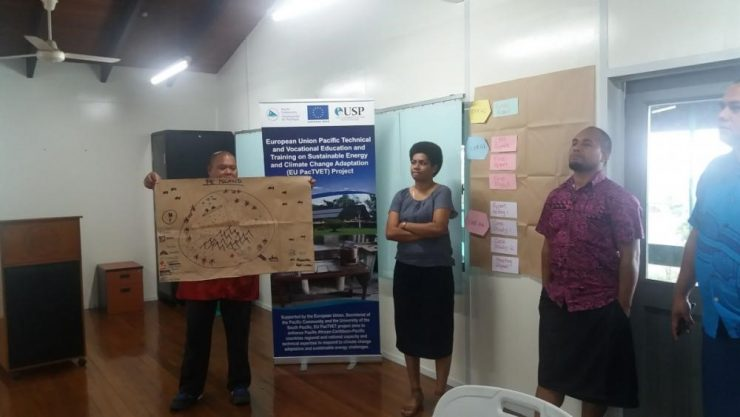 Pacific students gain professional qualifications in climate change adaptation & disaster risk reduction