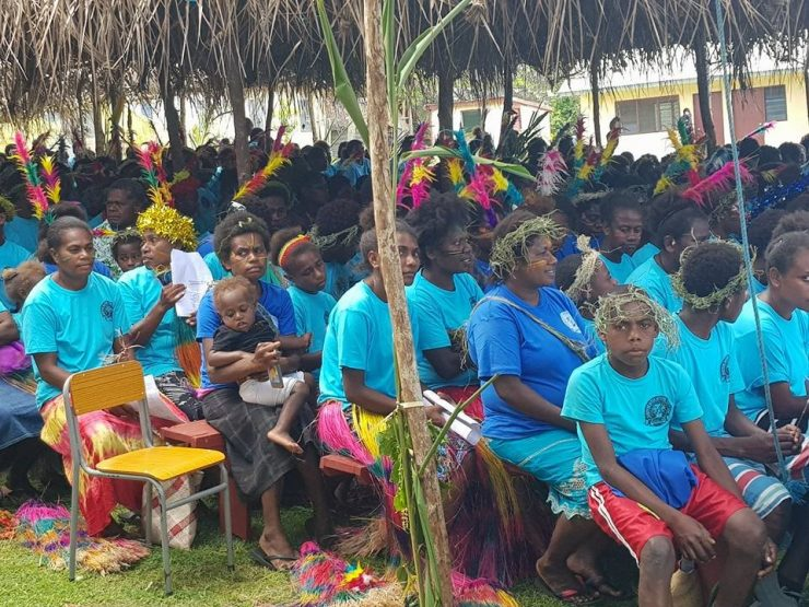 Catholic annual youth assembly on Tanna