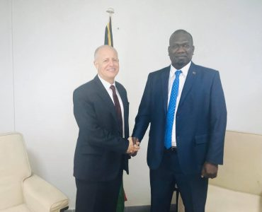 New High Commissioner Jonathan Schwass meets Foreign Affairs Minister, Hon Mark Ati